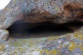 в такой пещере наверняка мог кто-то проводить свои культовые ритуалы