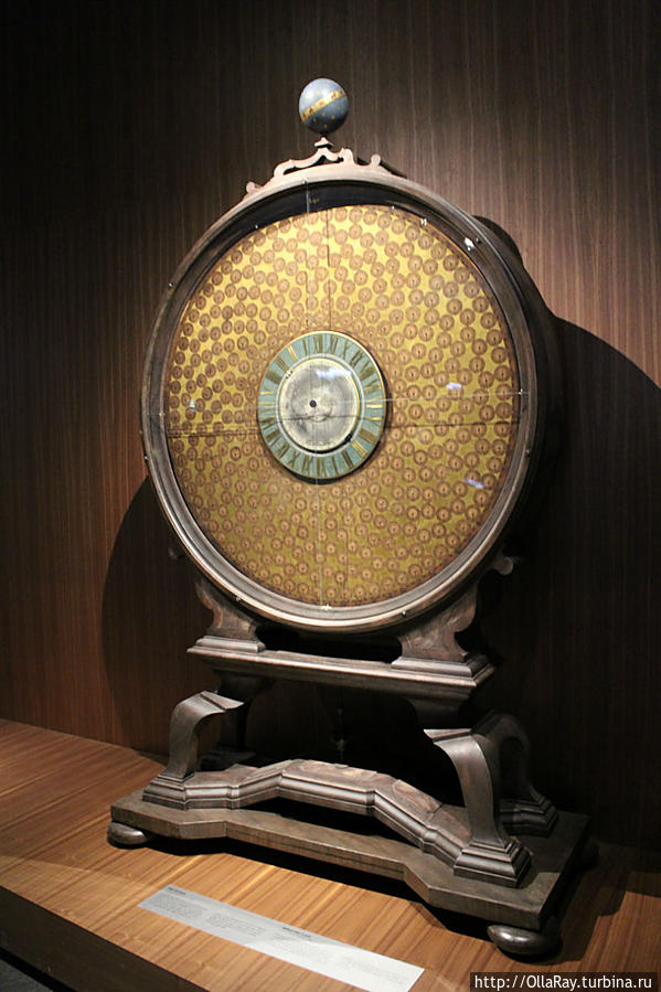 World time clock, 1690