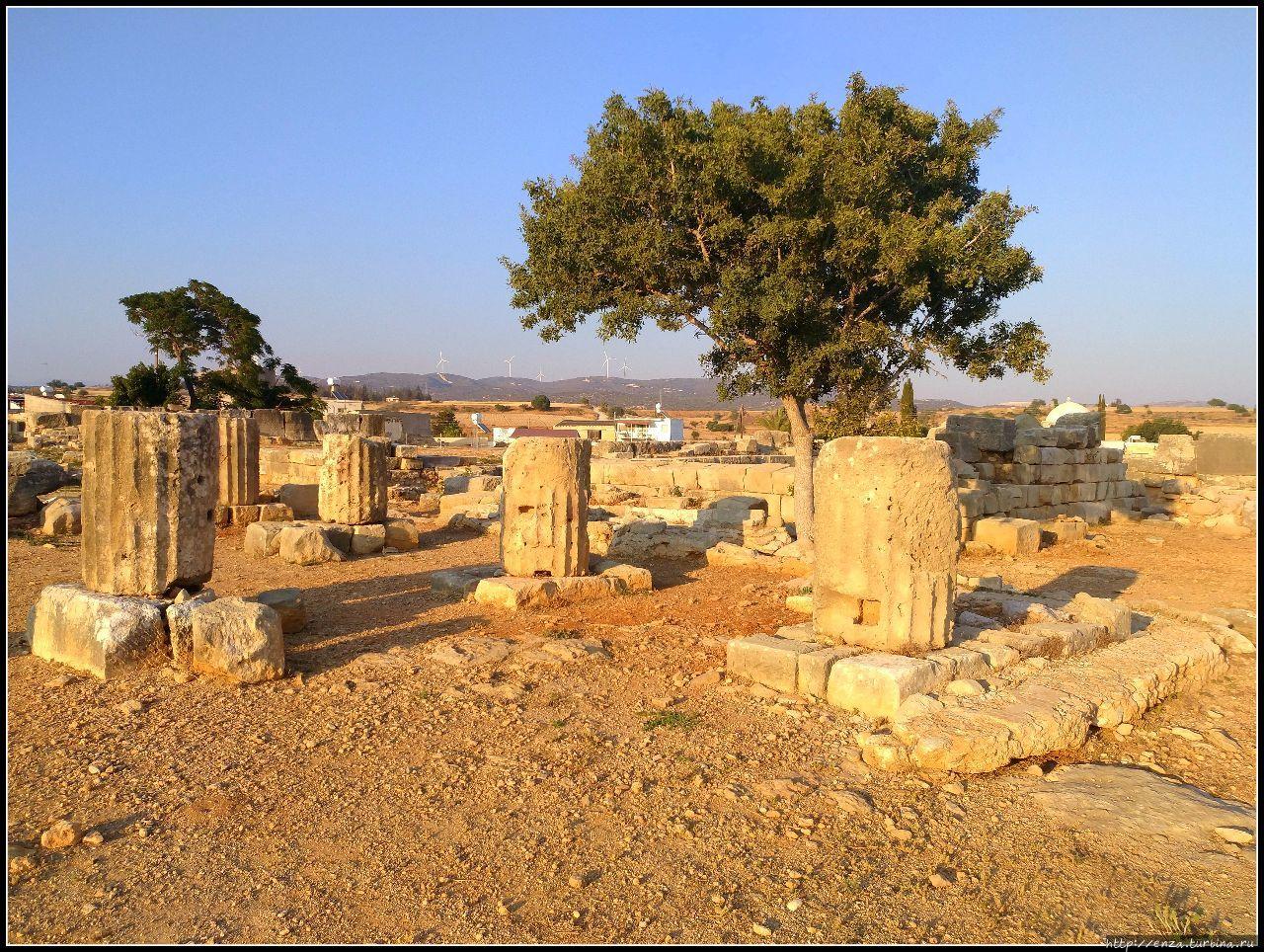 Деревня Куклия и святилище Афродиты