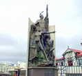 Памятник борцам сопротивления племен маори