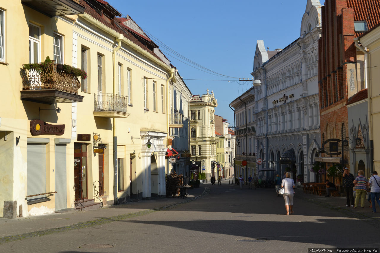 Один день в Вильнюсе Вильнюс, Литва