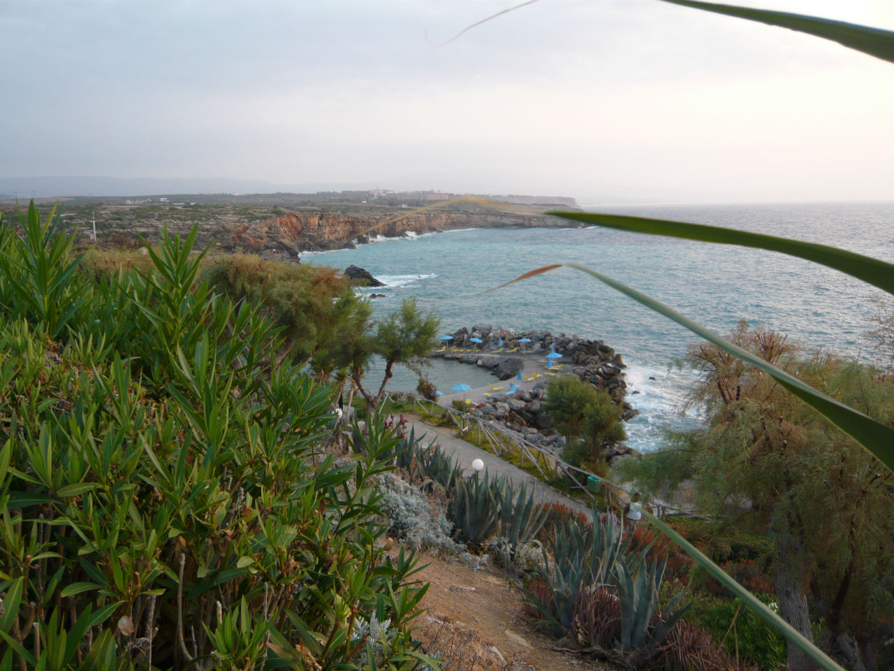 Вид на один из пляжей