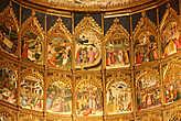 Главный алтарь Старого собора Саламанки