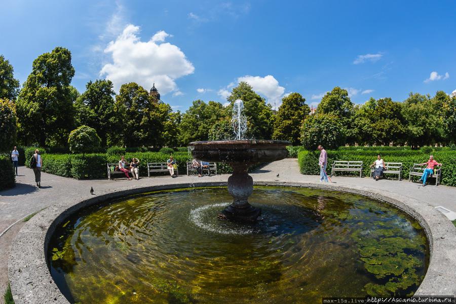 Дворцовый комплекс Резиденции Мюнхен, Германия
