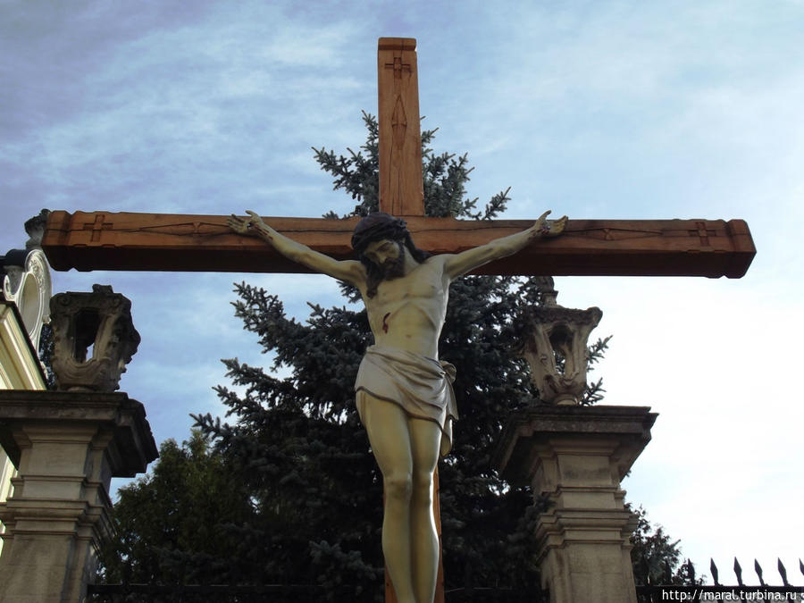 Вот только жаль распятого Христа