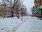утром в районе метро Октябрьское поле, морозно и свежо. Бесконечные аптеки горят яркими огнями напоминая о необходимости бороться с гриппом или простудой