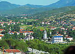 Вид на Любинье с холма Жигули