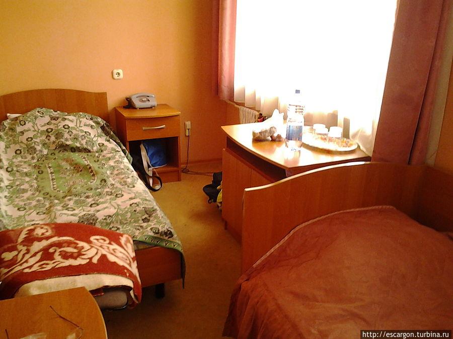 Комната двухместного номера с одной комнатой(1 разряд)