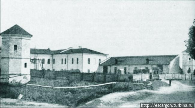 Фотография замка 1905 год