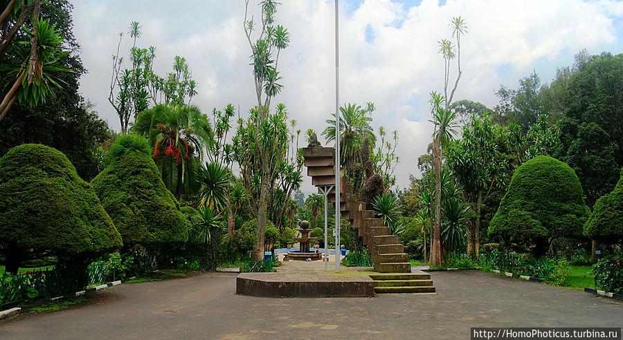 Университет, муссолиниевский лев Аддис-Абеба, Эфиопия
