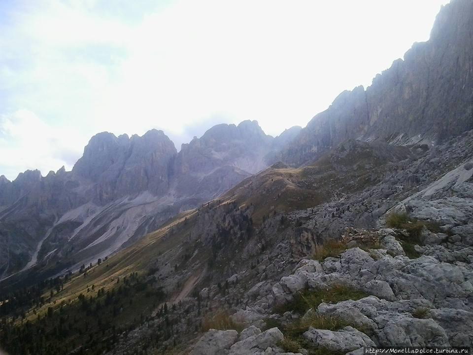 Поцца ди Фасса — горный массив  Катиначчио Поцца-ди-Фасса, Италия