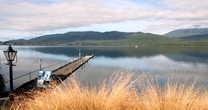 Озеро Те Анау вечером