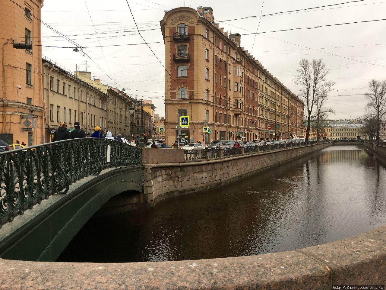 канал Грибоедова в районе