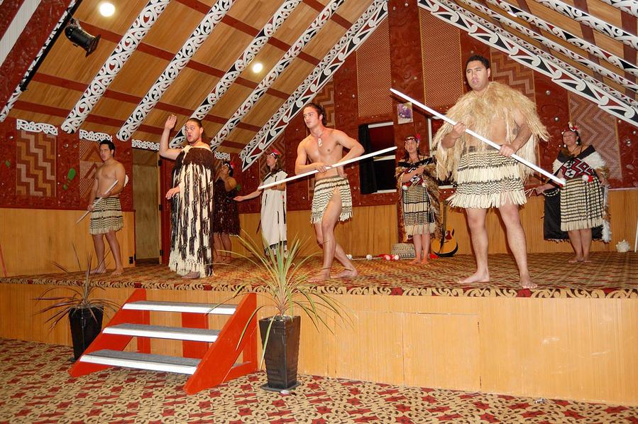 Концерт маори