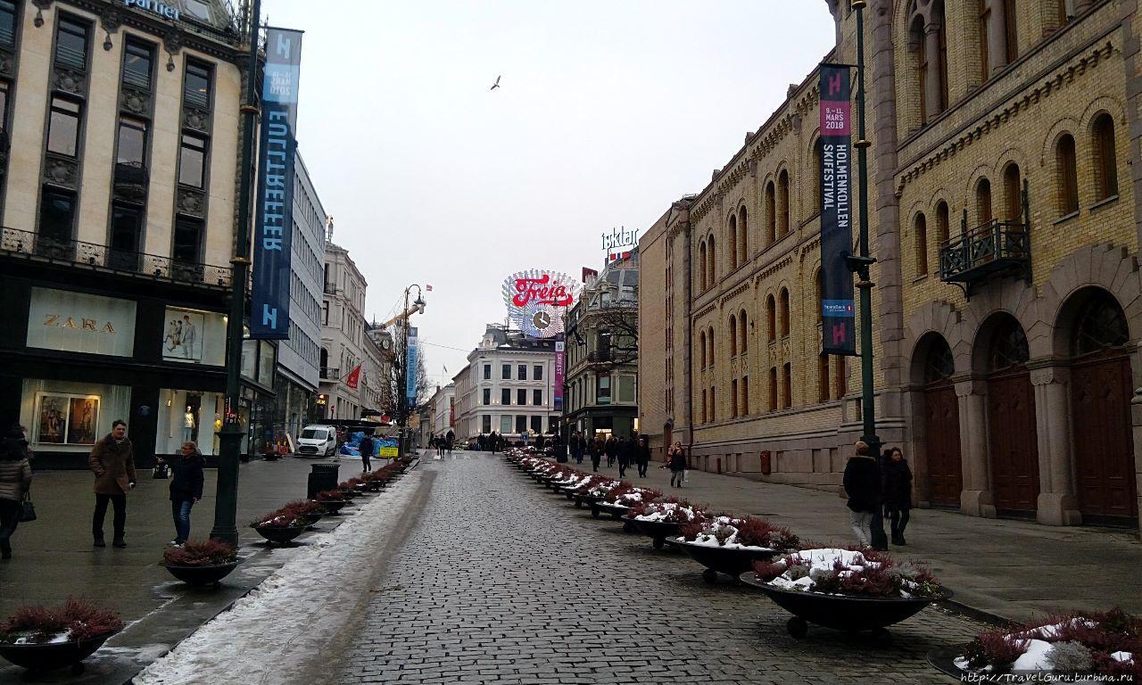 Пешеходные улицы центра О