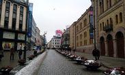 Пешеходные улицы центра Осло
