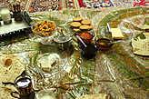 Иранский завтрак, угощение в гостях