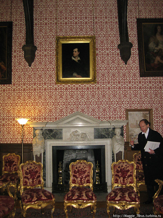 Викторианская комната и самый знаменитый портрет Байрона