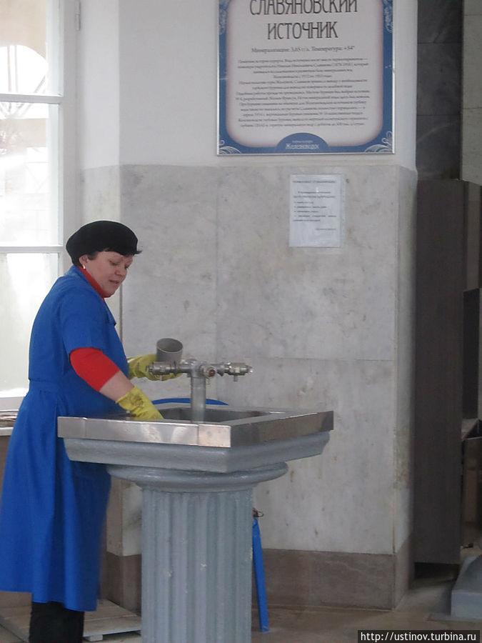в бювете Железноводск, Россия