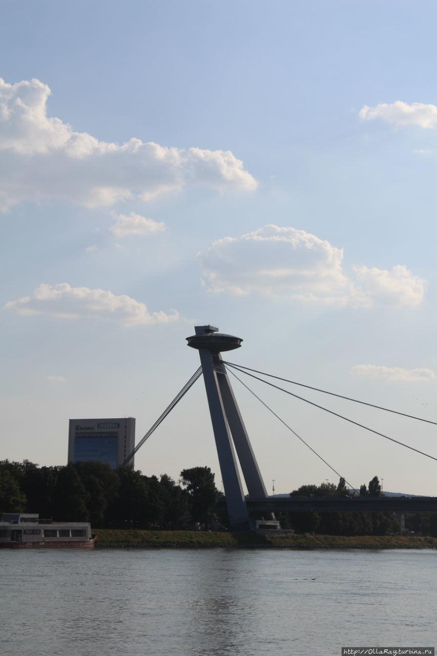 Новый мост. Братислава. Смотровая площадка