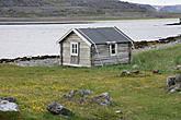 Хамнингберг.Крыша сарая привязана стропами ,что бы не снесло ветром.