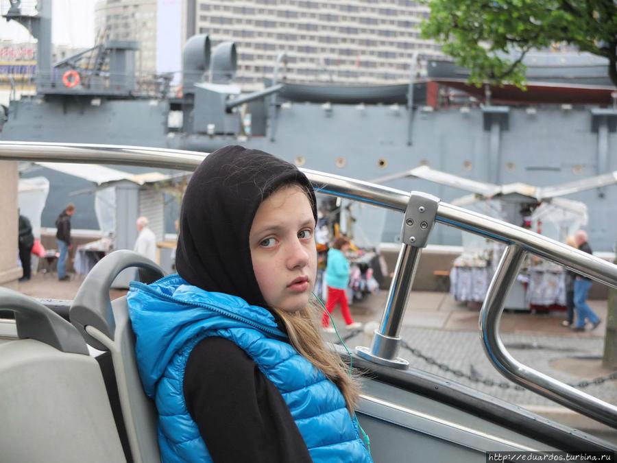 Ещё мёрзнем на верхней палубе автобуса)))