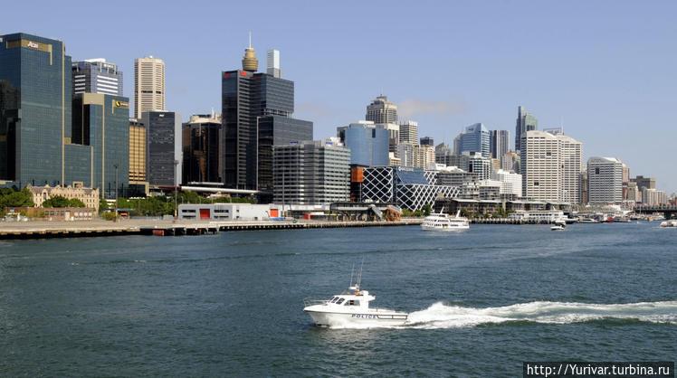 Сидней — модерновый город