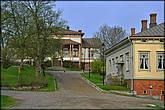 Старинный особняк на улице Alinenkatu.