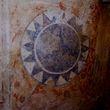 Сохранившиеся фрески радуют своей яркостью