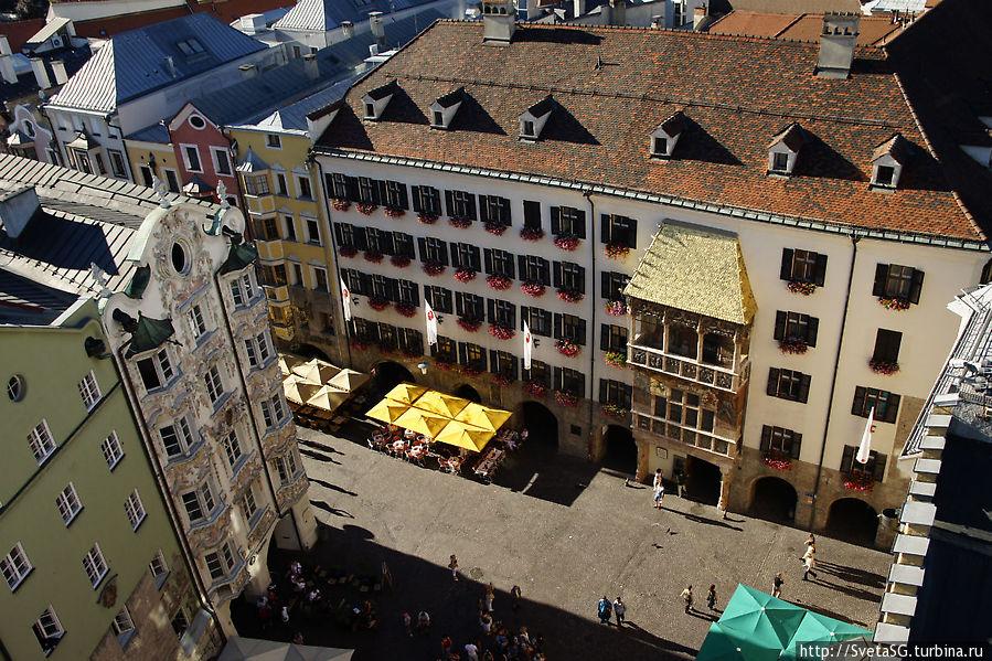 Золотая крыша — символ Инсбрука