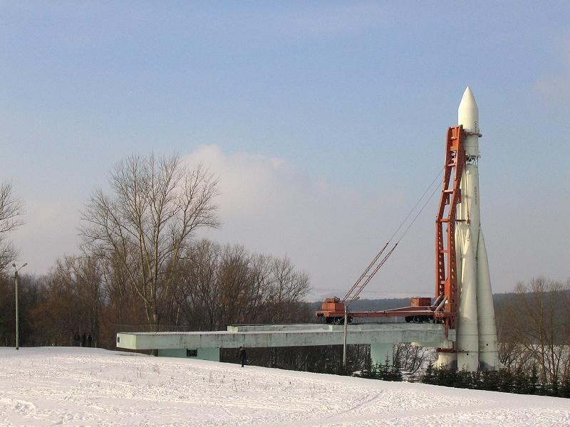 Макет ракеты Восток