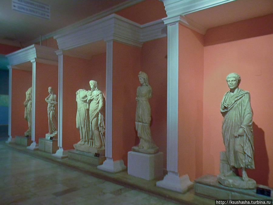 Галерея богов из Перге