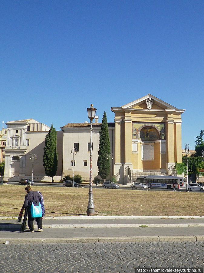 Scala Santa и Триклиний
