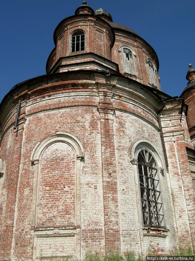 В селе Пустополье Уржуского  района, сохранилась  церковь Уржум, Россия
