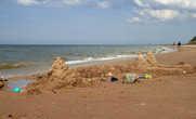 замок в Юркалне у моря:))