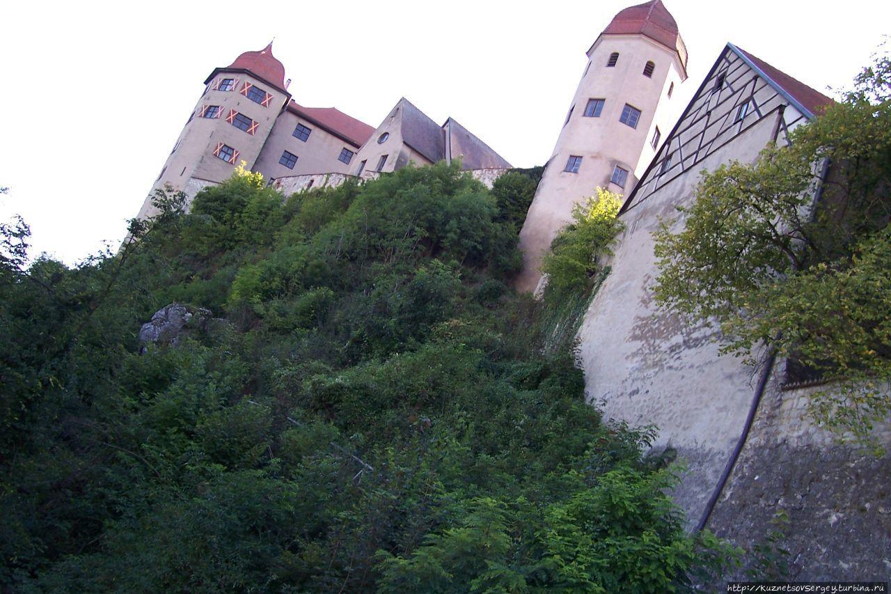 Романтише штрассе. Вайкерсхайм-Нордлинген-Харбург Земля Бавария, Германия