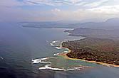 огибаем остров, показался знакомый залив Ханалей