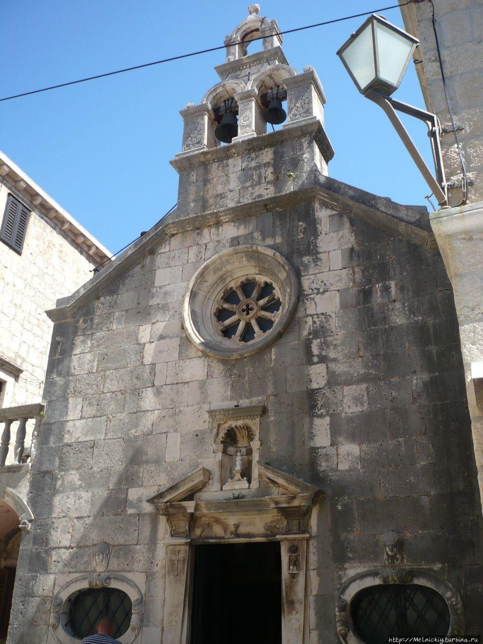 Церковь Святого Михаила Корчула, остров Корчула, Хорватия