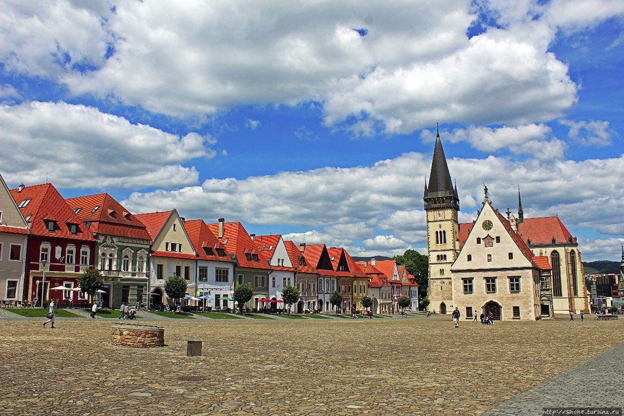 Город-заповедник Бардеёв — объект ЮНЕСКО № 973