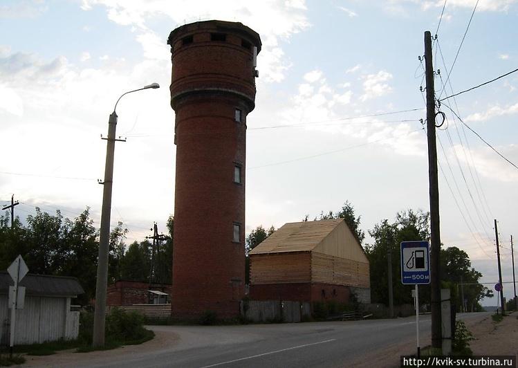 И у этой башне проходит т
