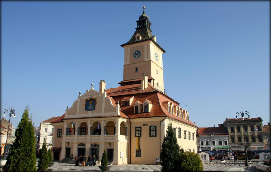 Достопримечательности и душа старого Брашова Брашов, Румыния