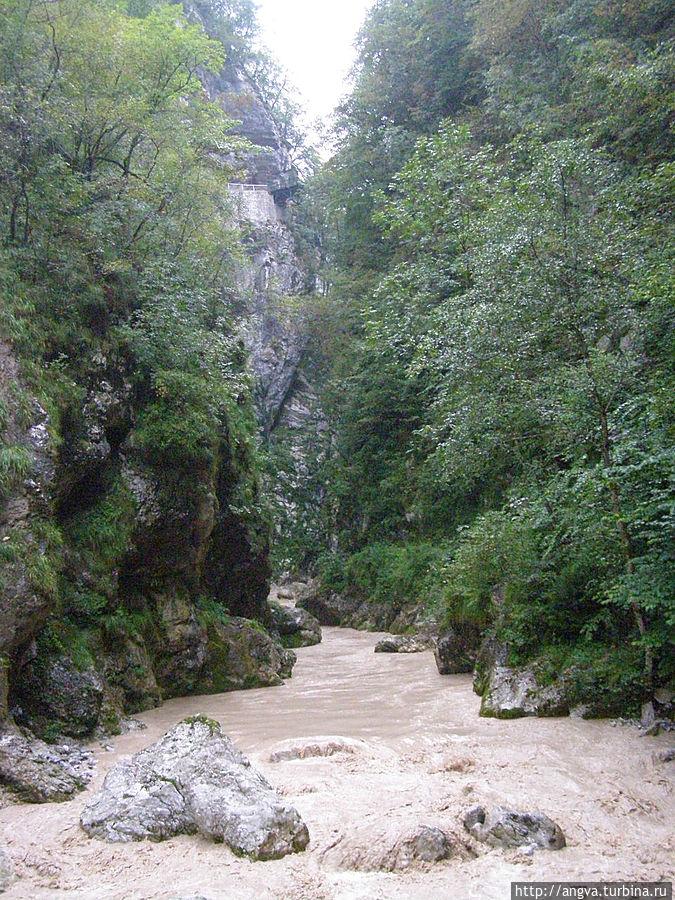 Толминское ущелье — земля живой воды Толмин, Словения