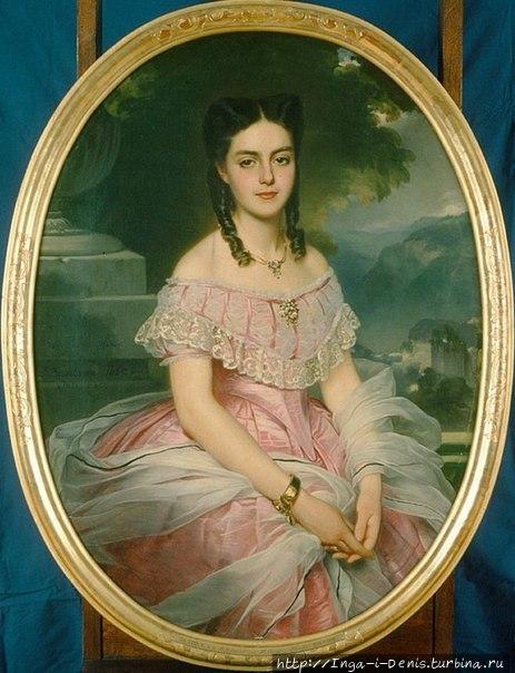 Портрет Вильгельмины Кемпе незадолго до замужества (фото из интернета)