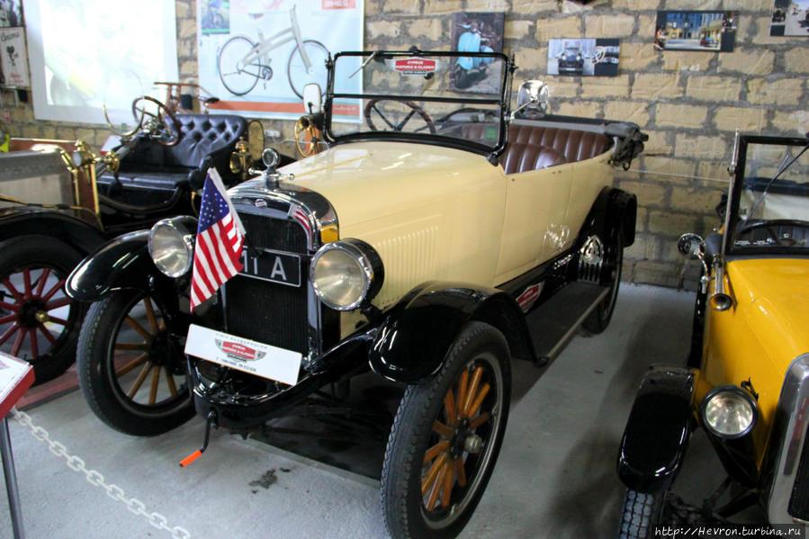 Уиллис Оверлэнд. Американский автомобиль.