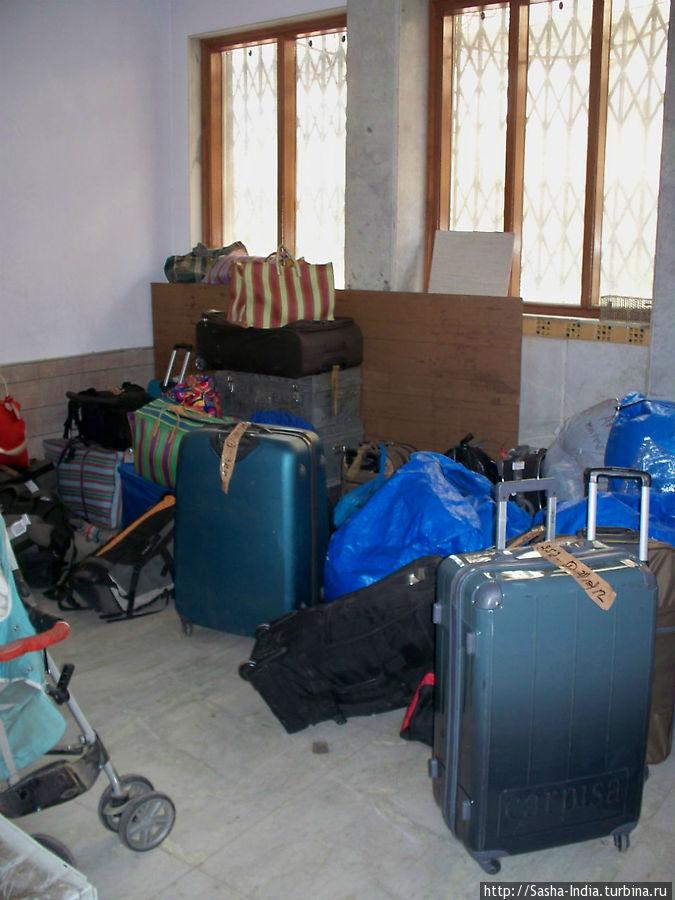 Комната хранения вещей в гостинице