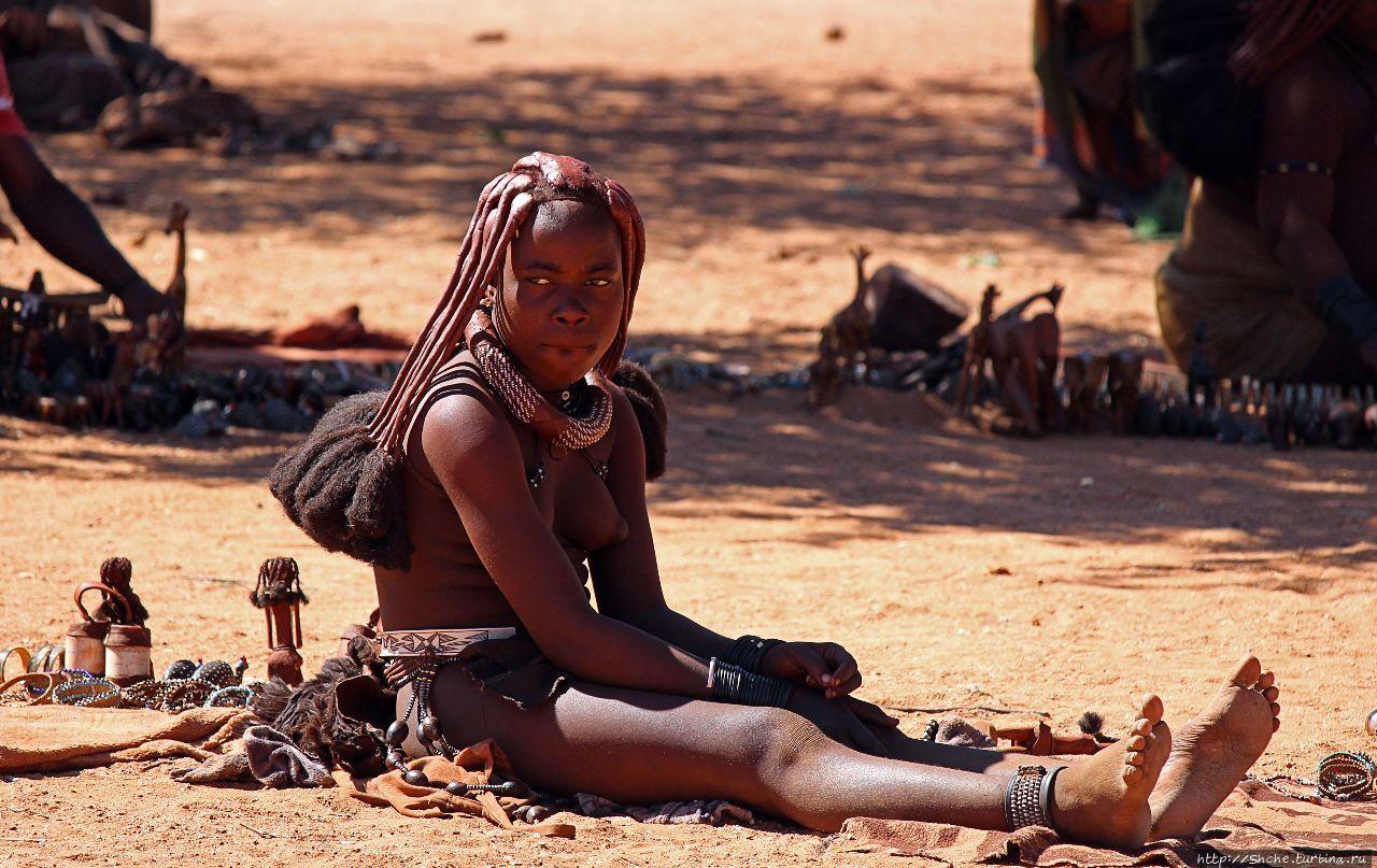 Отжикандеро Химба Сиротская деревня Отжикандеро, Намибия