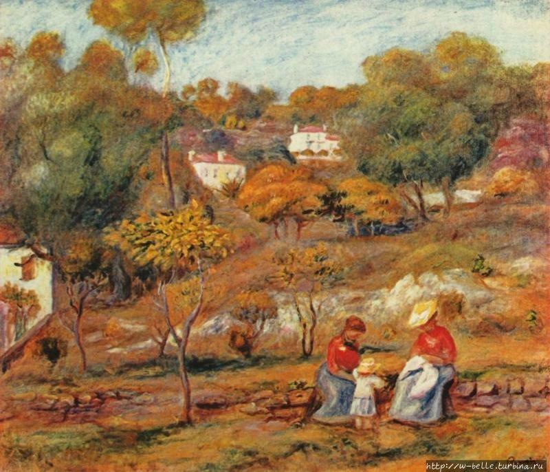 Осень в Эссуа. Пьер Огюст