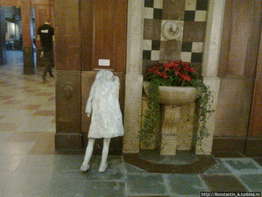 памятник потерявшимся детям