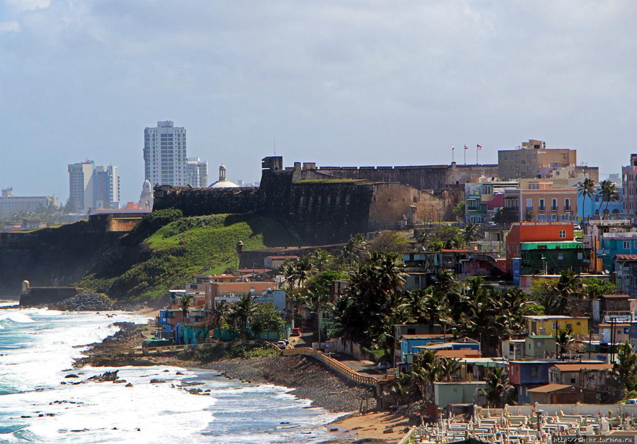 Крепость Сан Кристобаль Сан-Хуан, Пуэрто-Рико