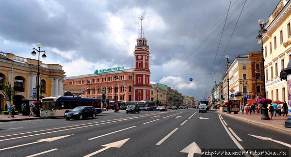 Думская башня Санкт-Петербург, Россия